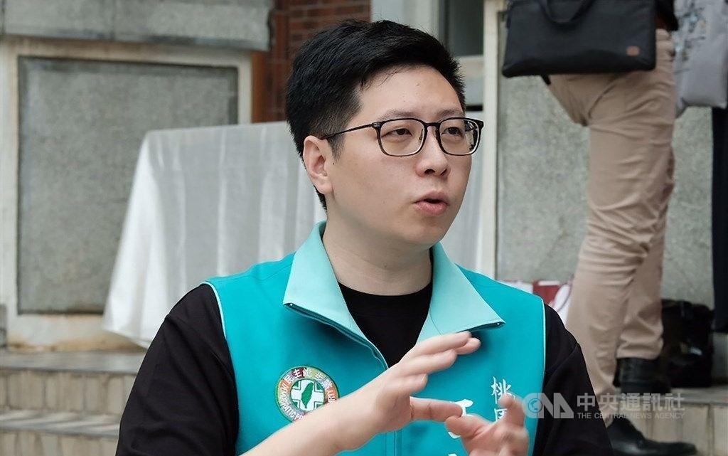 Outgoing Taoyuan City Councilor Wang Hao-yu. CNA file photo