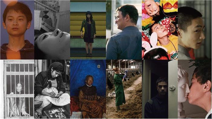 The 12 films selected in the festival