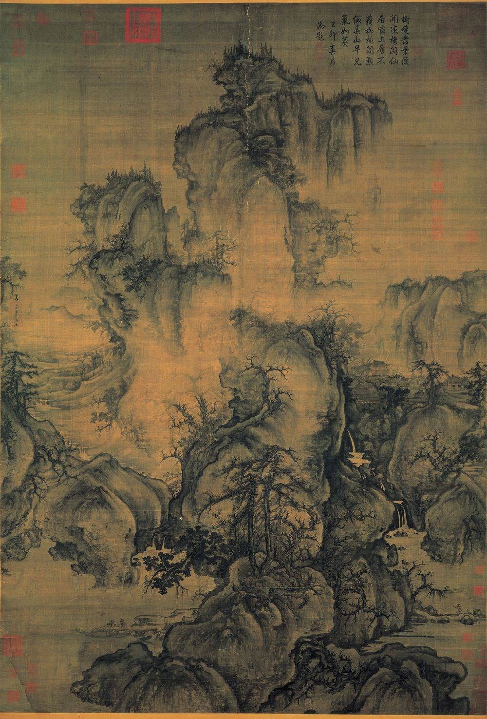 """""""Early Spring"""" by Song dynasty artist Guo Xi. Image courtesy of National Palace Museum"""