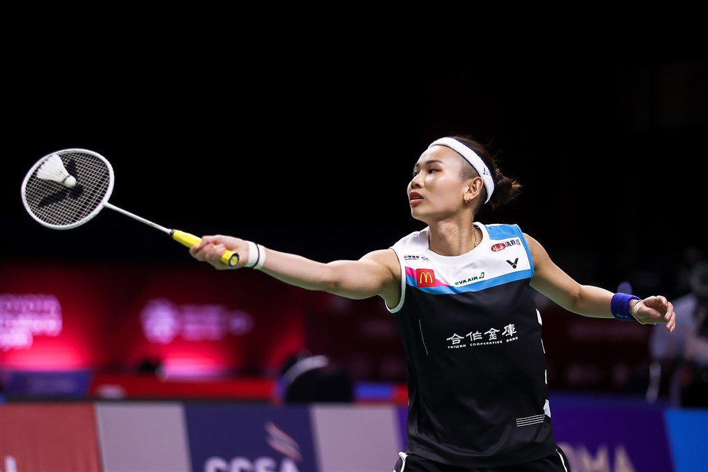 World No. 1 Tai Tzu-ying. Photo courtesy of the Badminton Association of Thailand