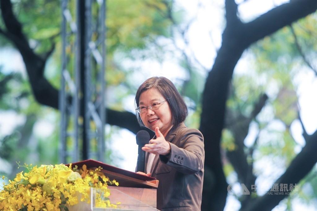 Taiwan President Tsai Ing-wen (CNA file photo)