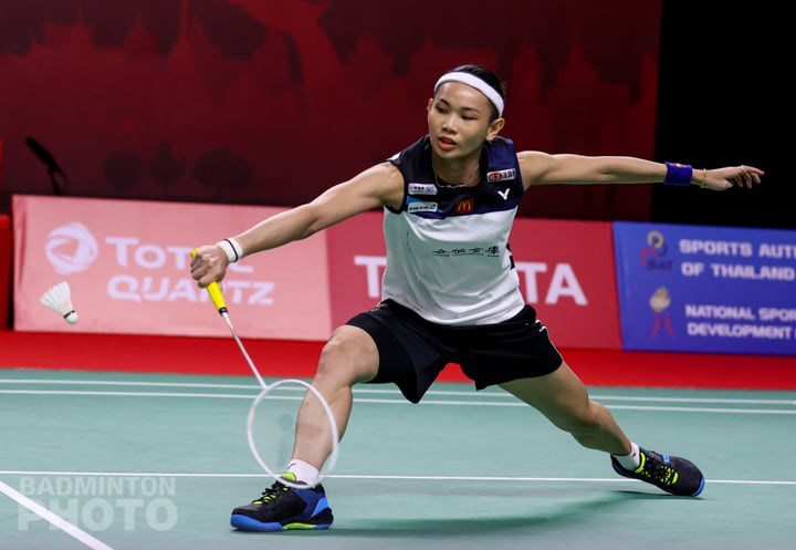 World No. 1 Tai Tzu-ying. Photo courtesy of the Badminton Association of Thailand