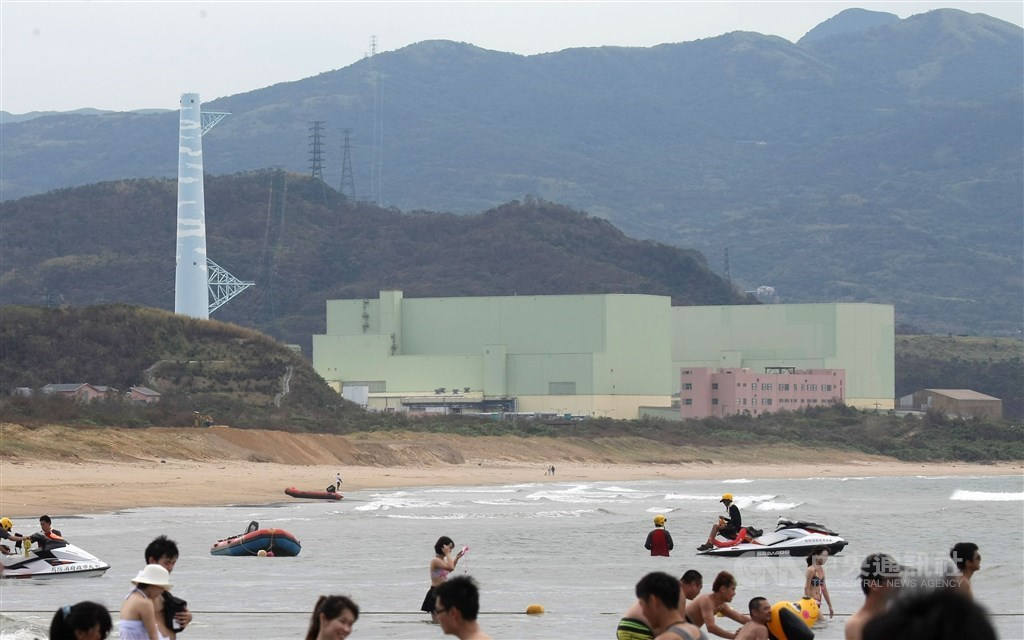 The Fourth Nuclear Power Plant in New Taipei. CNA file photo
