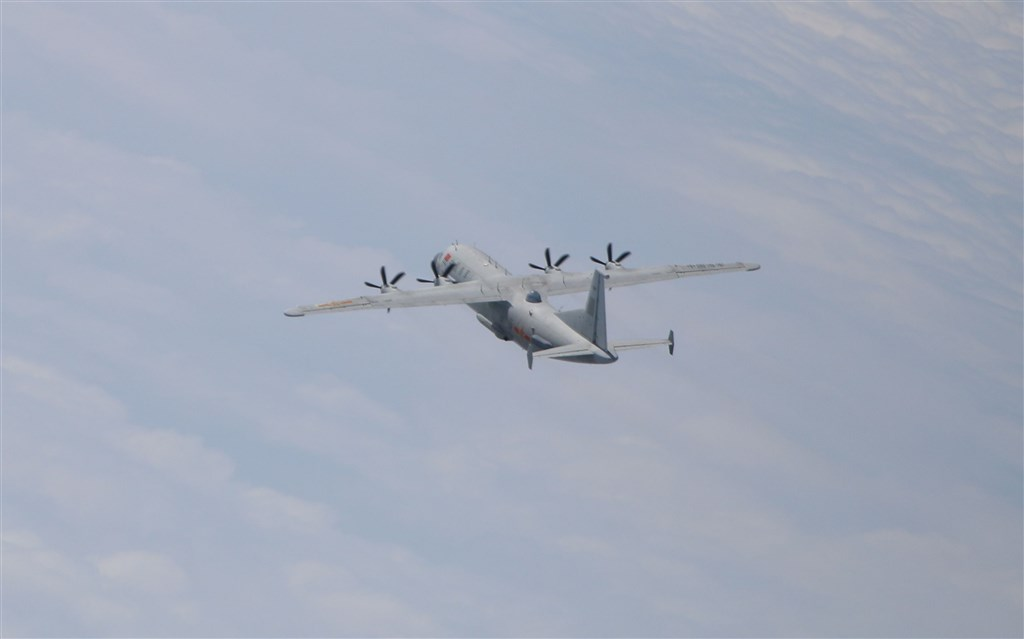 A Y-8 tactical reconnaissance plane. Photo courtesy of the Ministry of National Defense