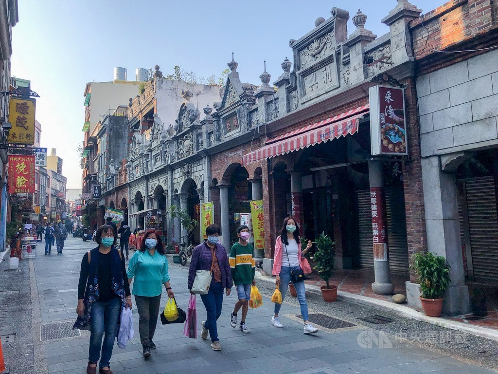 Daxi Old Street. CNA photo Jan. 31, 2021