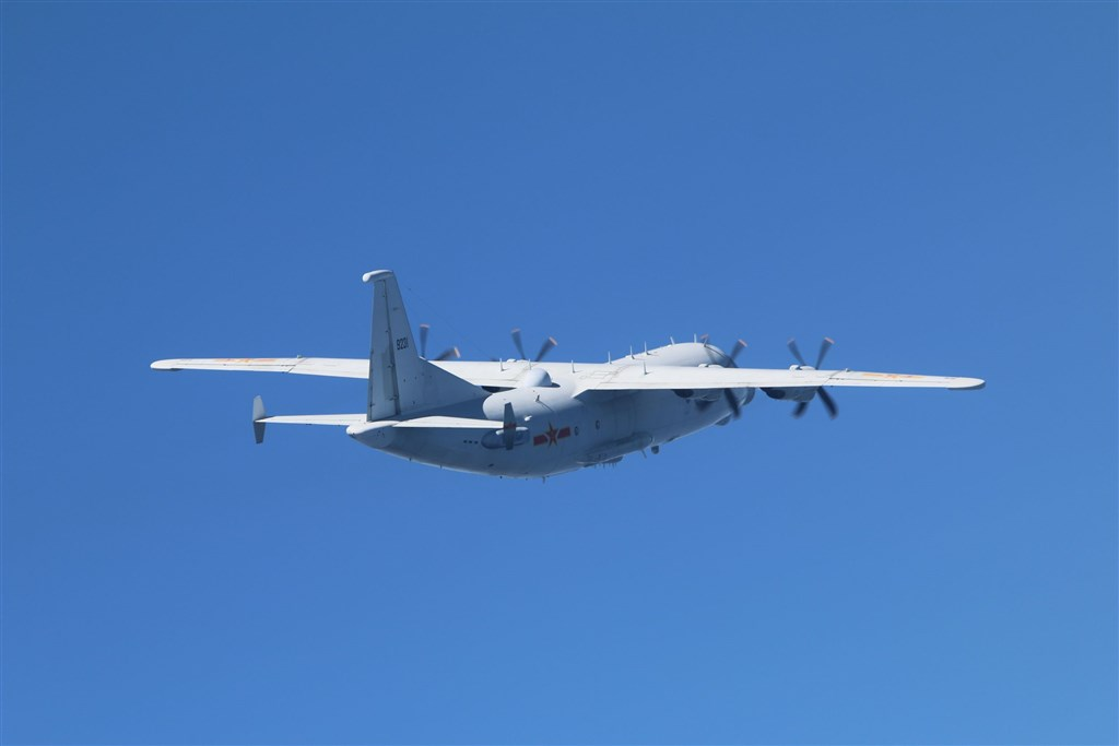 A Y-8 tactical reconnaissance plane. Photo courtesy of the Ministry of National Defense.