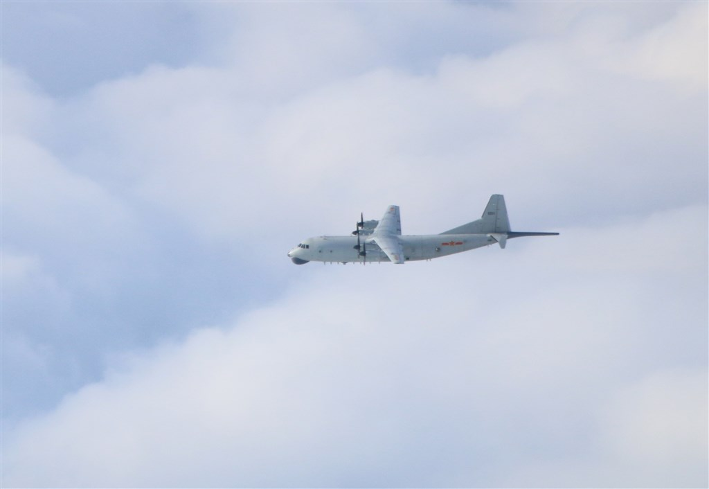 A Y-8 anti-submarine plane. Photo courtesy of the MND