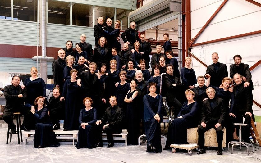 A group photo of the Chorus of Dutch National Opera, taken when it was named by Opernwelt as the best opera chorus of the year in 2016. Photo from the Dutch National Opera