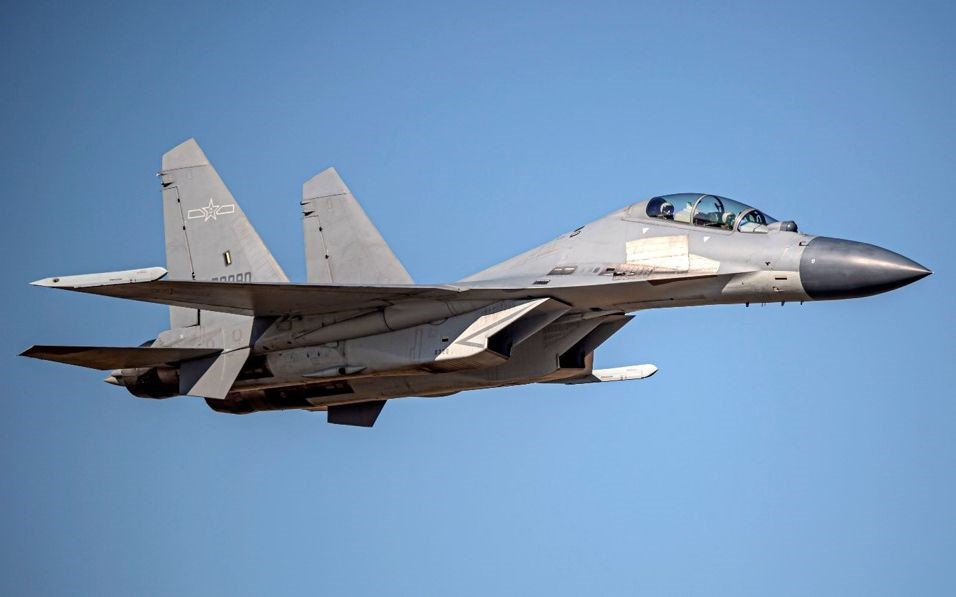 A J-16 fighter jet. Photo courtesy of the Ministry of National Defense