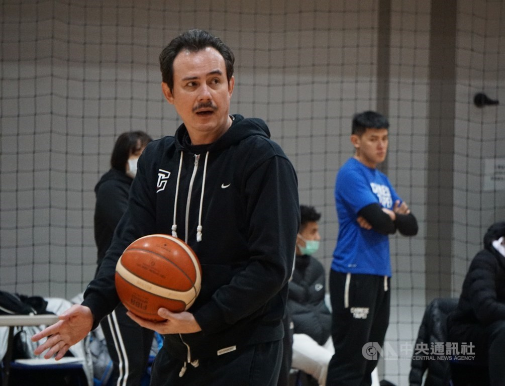 Cheng Chih-lung, a coach of the Taiwan team (CNA file photo)