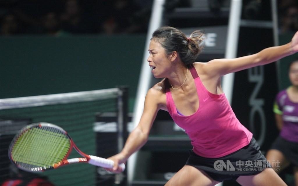 Tennis player Hsieh Su-wei