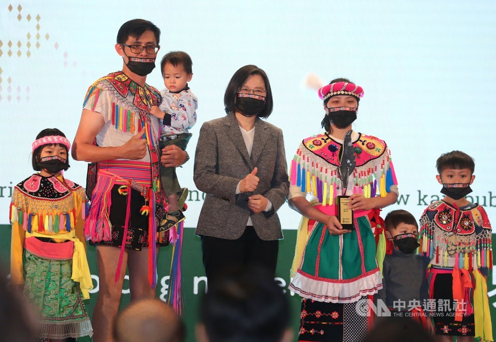 Indigenous languages indispensable voice of Taiwan: president