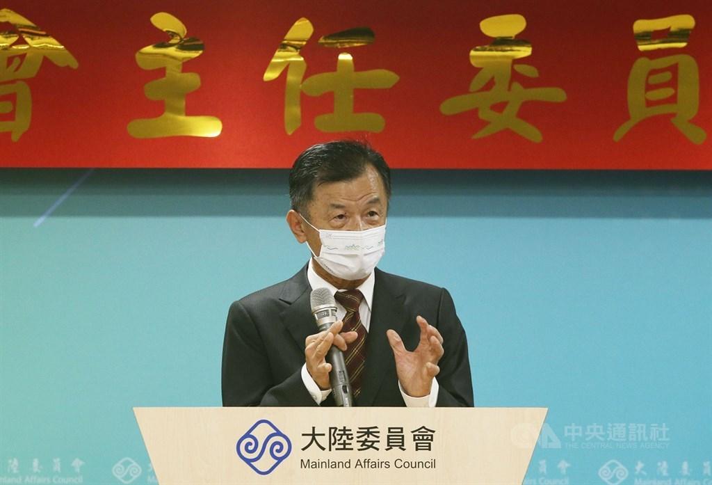 New Mainland Affairs Council (MAC) head Chiu Tai-san (邱太三)