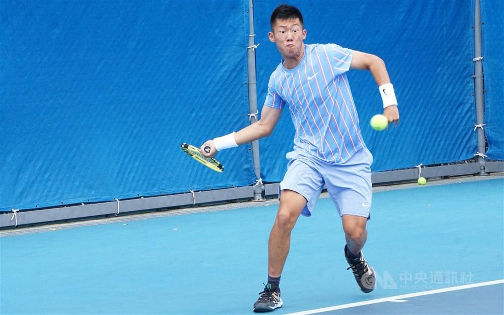 Tennis player Tseng Chun-hsin. CNA file photo