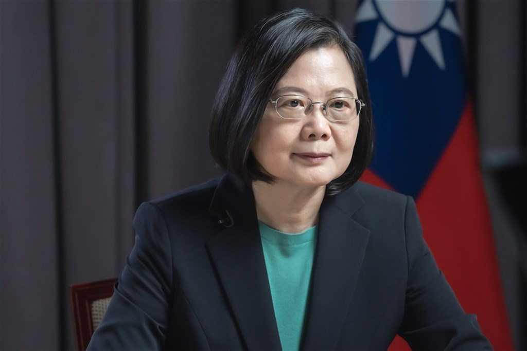 President Tsai Ing-wen. Image courtesy of the Presidential Office