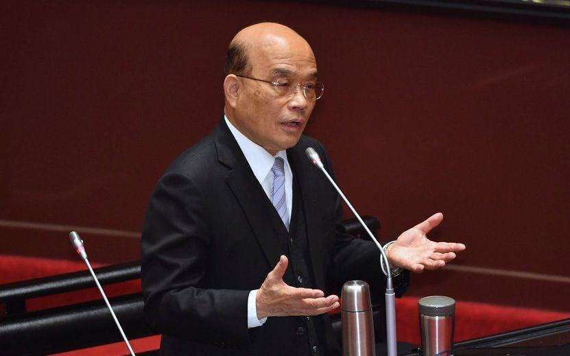 Premier Su Tseng-chang. CNA photo March 9, 2021
