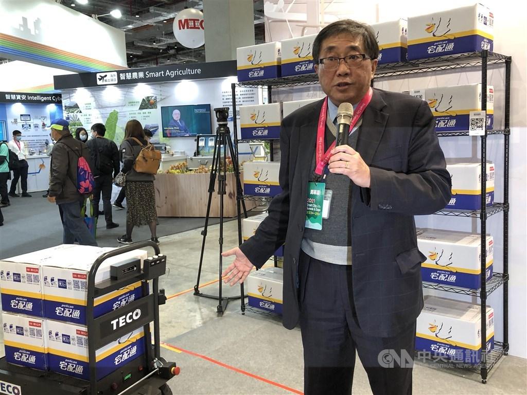 TECO President George Lien. CNA photo March 23, 2021