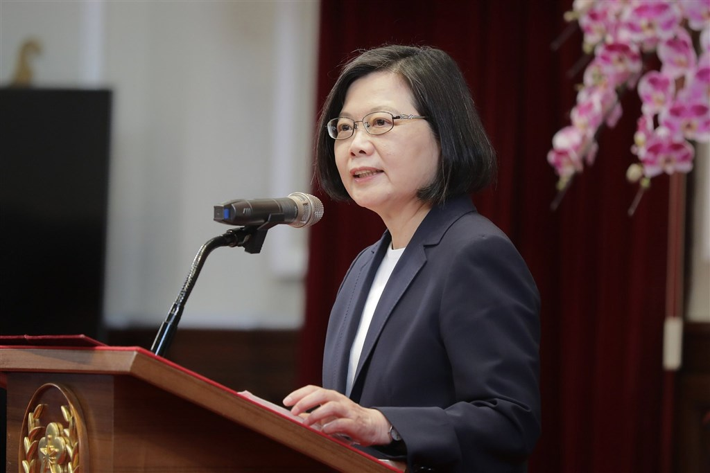 President Tsai Ing-wen. Photo courtesy of the Presidential Office
