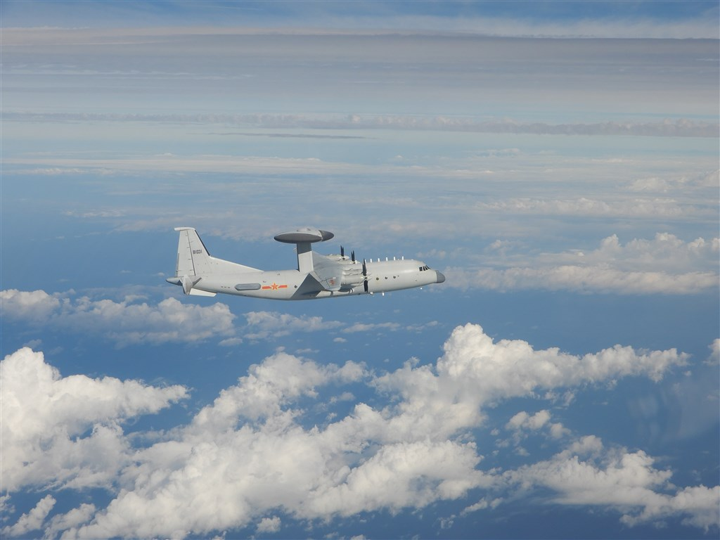 A PLA KJ-500 airborne early warning and control plane. Photo courtesy of the Ministry of National Defense