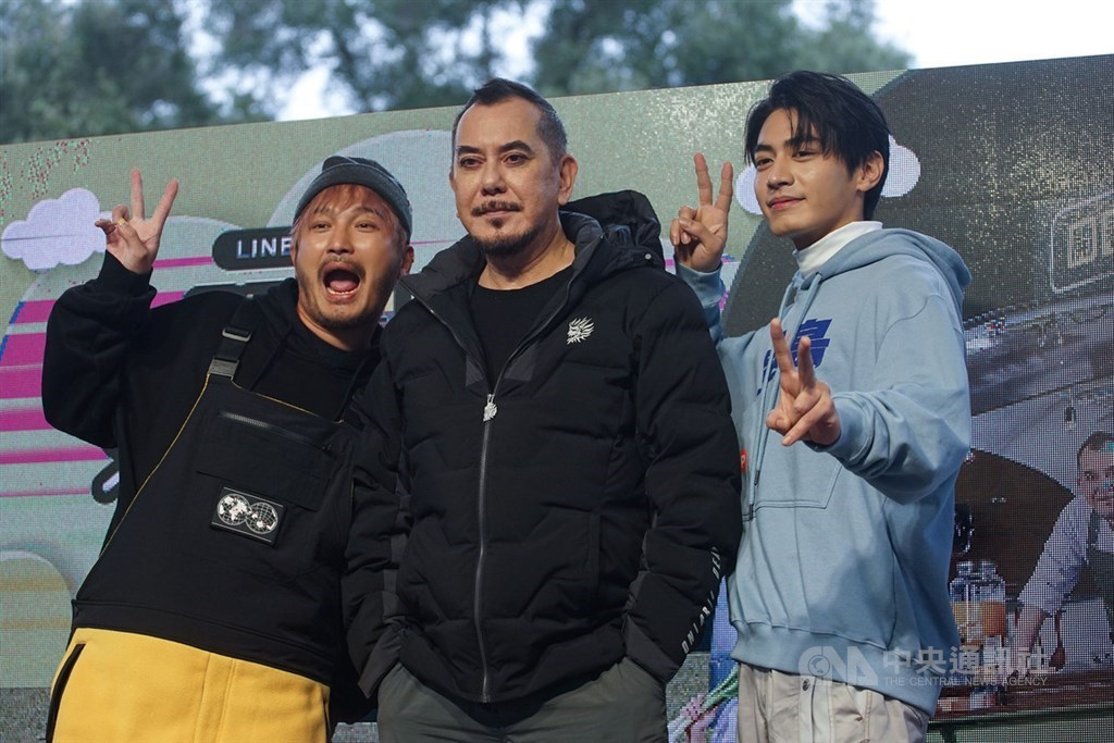 Hong Kong actor Anthony Wong (middle). CNA file photo