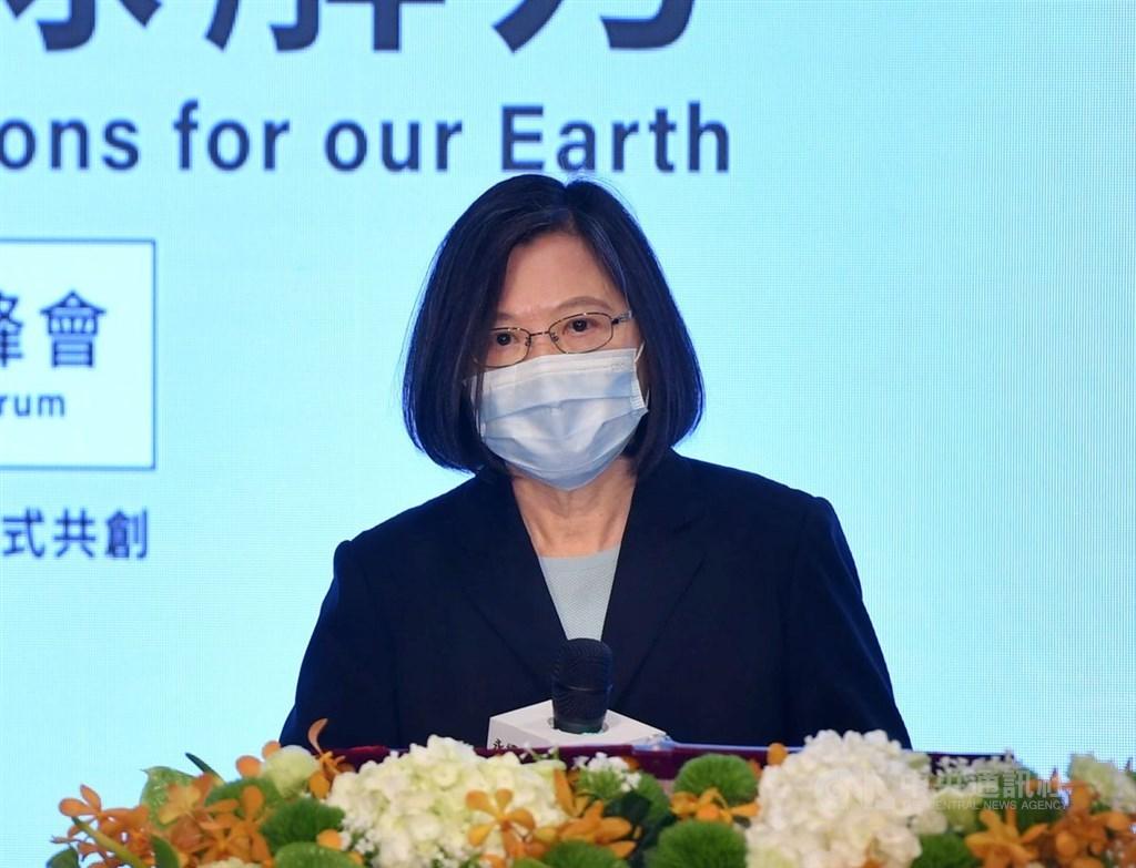 President Tsai Ing-wen (蔡英文) / CNA photo April 22, 2021