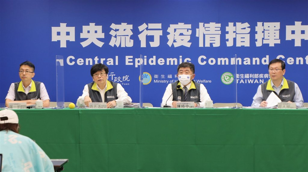 The COVID-19 press briefing on Tuesday. Photo courtesy of the CECC