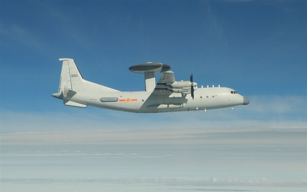 A KJ-500 airborne early warning and control plane. Photo courtesy of the Ministry of National Defense