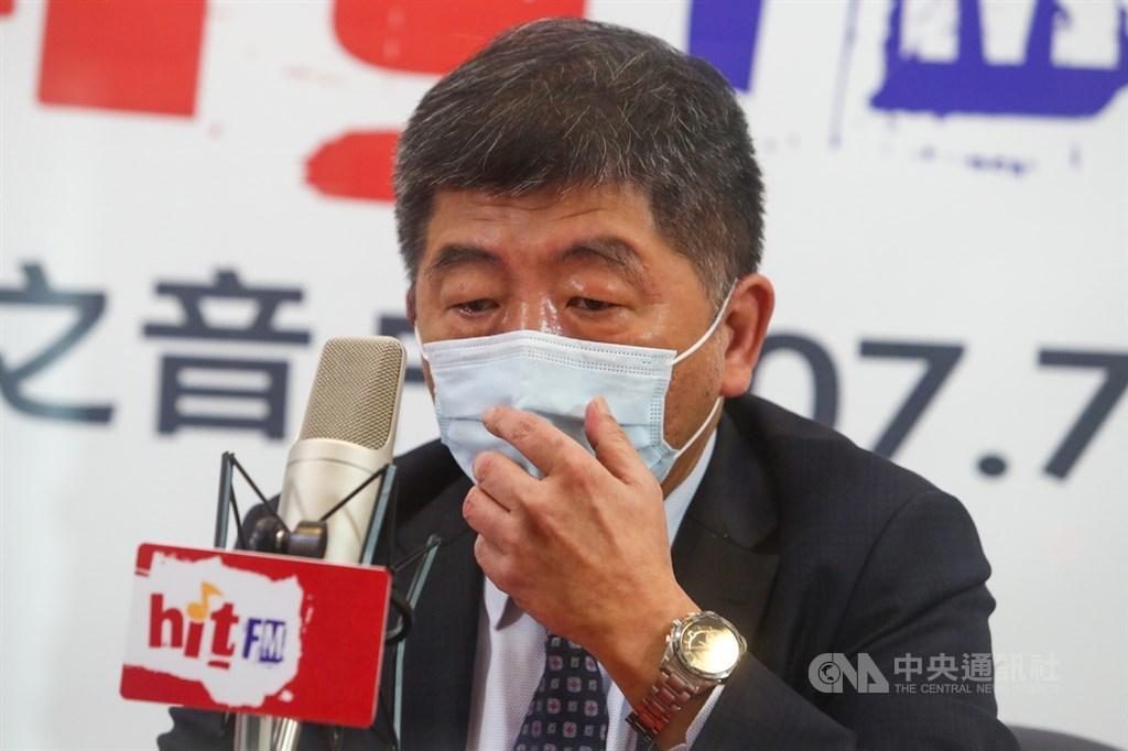Health and Welfare Minister Chen Shih-chung (陳時中). CNA photo May 3, 2021