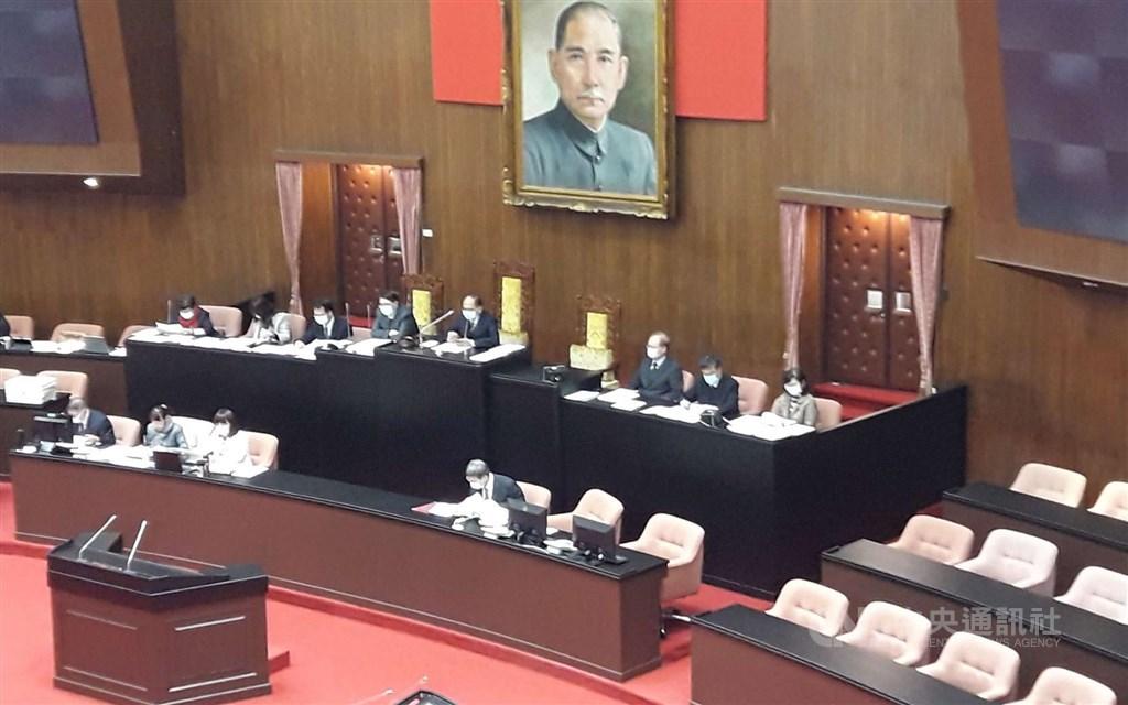 The Legislature. CNA file photo