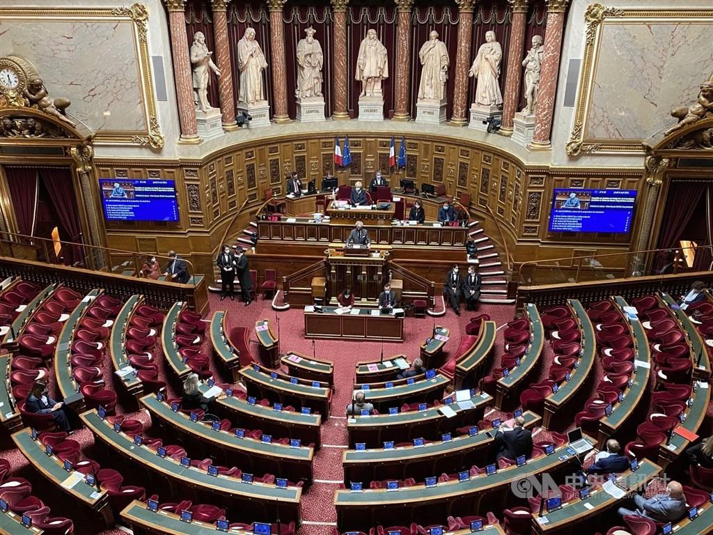 The French Senate. CNA photo May 6, 2021