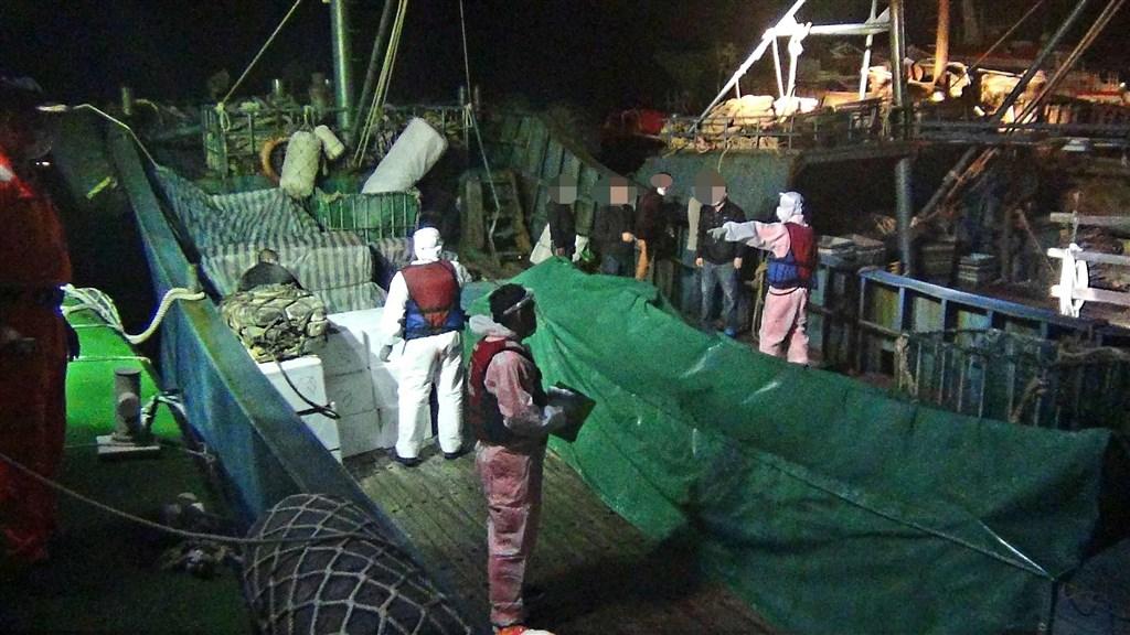 Photo courtesy of the Penghu coast guard