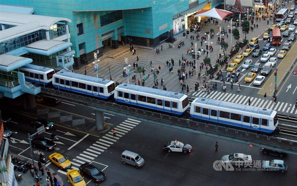 Zhongxiao-Fuxing Station. CNA file photo