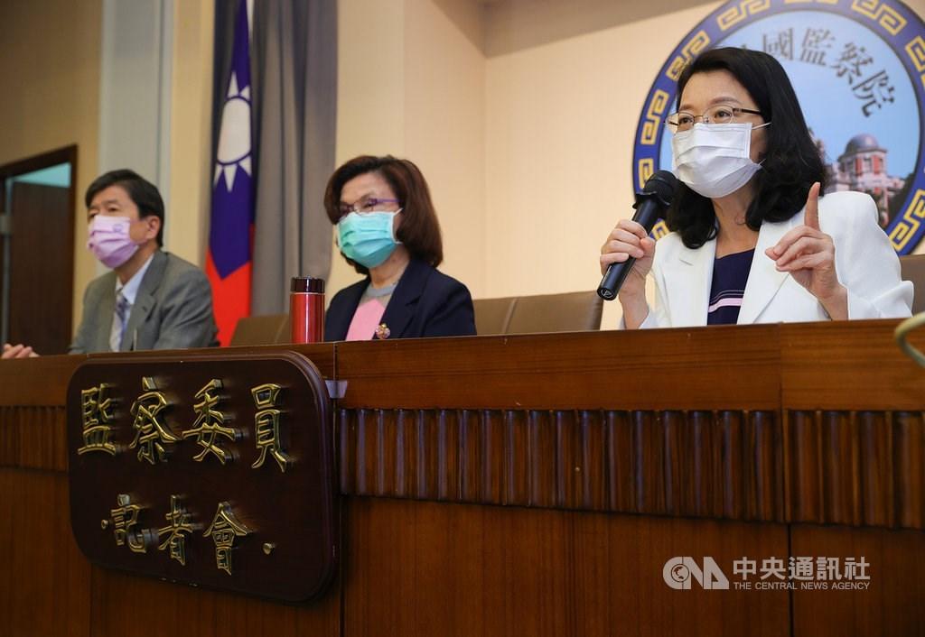 Wang Mei-yu (right). CNA file photo