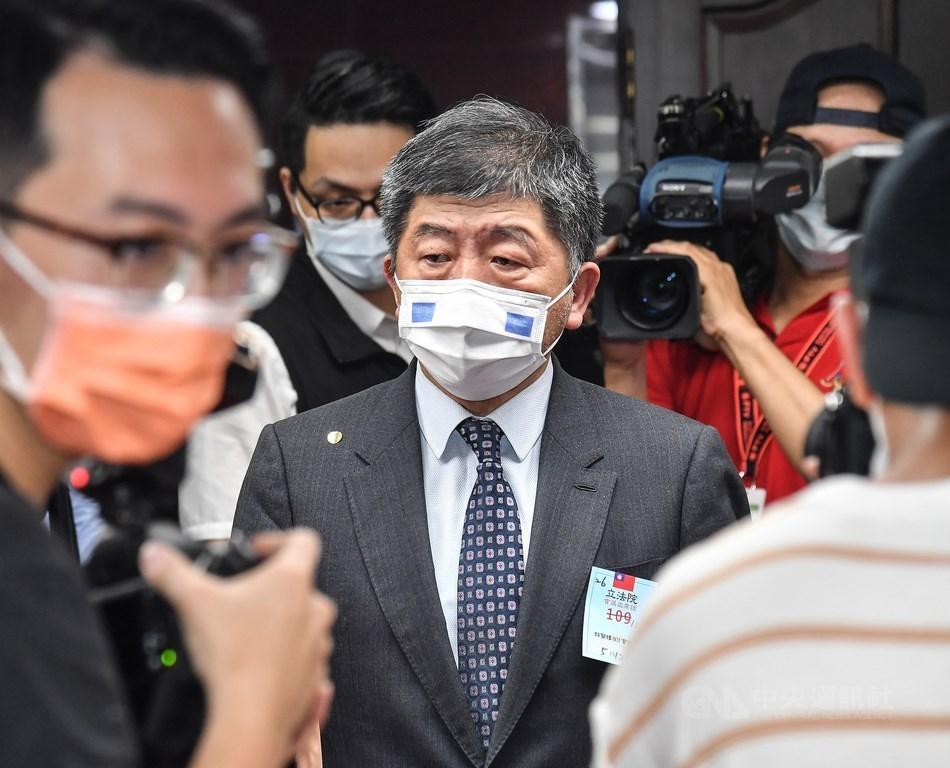 Health Minister Chen Shih-chung / CNA photo May 12, 2021