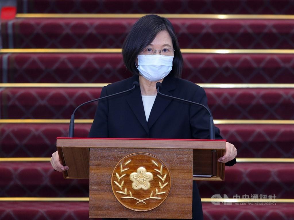 President Tsai Ing-wen. CNA photo May 13, 2021