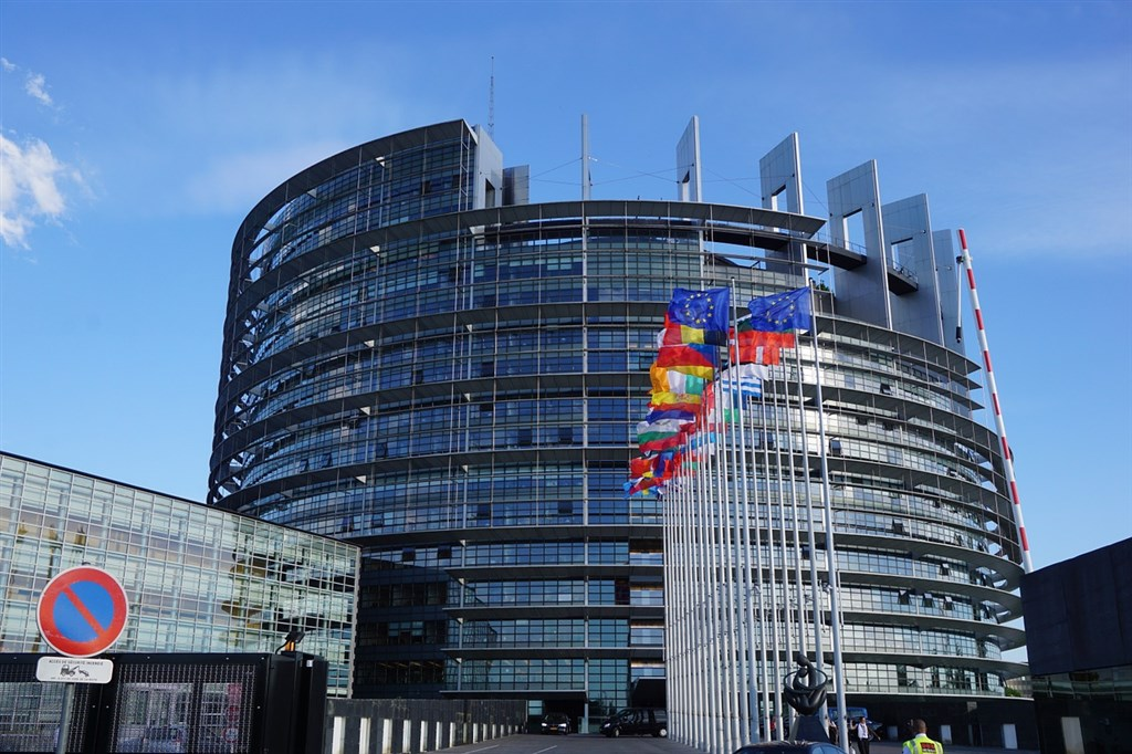 The Louise Weiss building of the European Parliament, in Strasbourg. Image from Pixabay