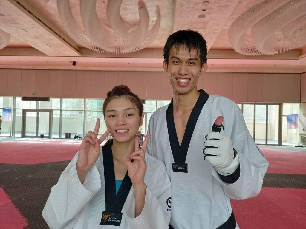 Su Po-ya (left) and Liu Wei-ting. Photo courtesy of Liu Tsu-yin