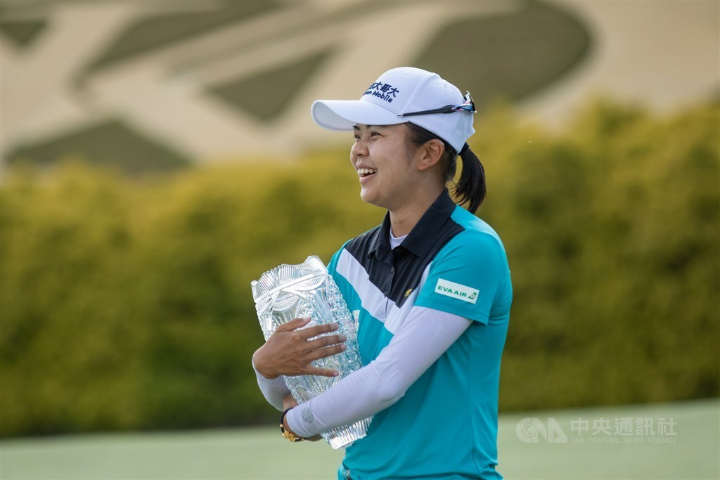 Hsu Wei-ling. Photo taken from the Twitter page of LPGA Media at twitter.com/LPGAMedia