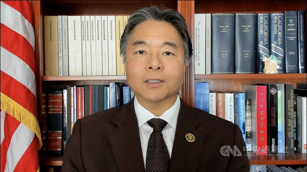 United States Representative Ted Lieu (劉雲平). Photo courtesy of Taiwan