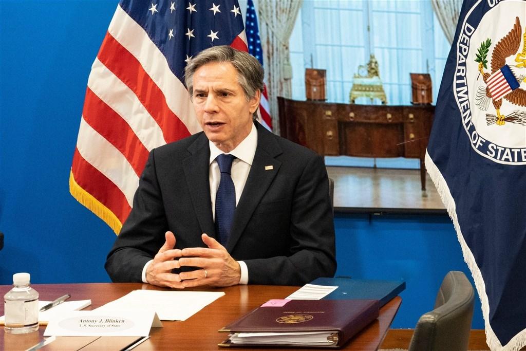 U.S. Secretary of State Antony Blinken. Image from Blinken