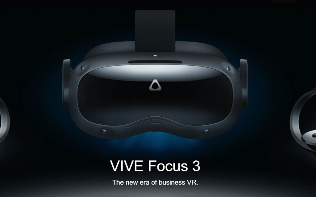 The Vive Focus 3. Image from the Vive website