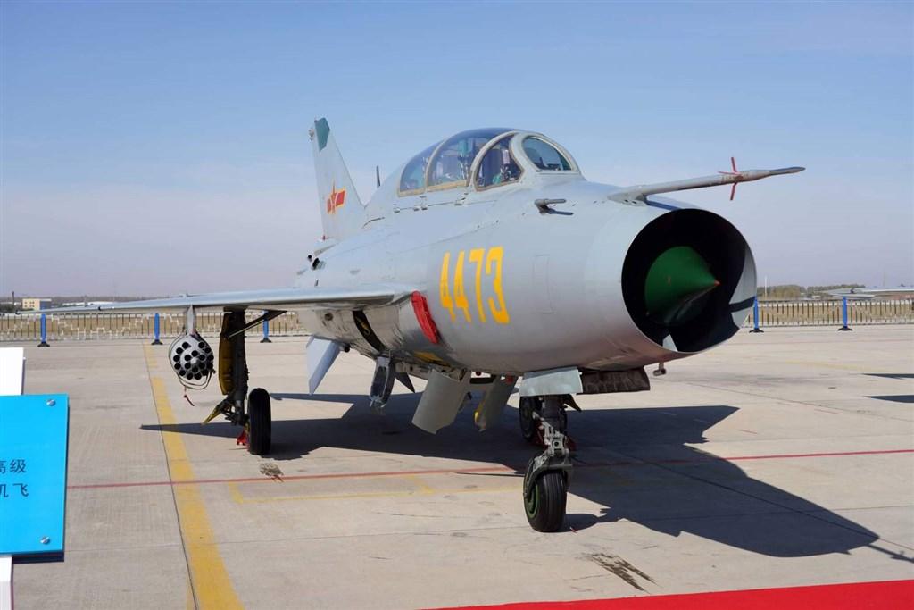 A PLA J-7 lightweight fighter. Photo courtesy of MND
