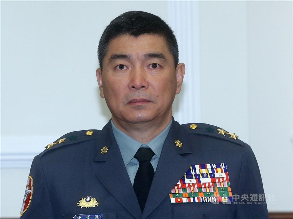 Army Commander General Chen Pao-yu (陳寶餘). CNA file photo