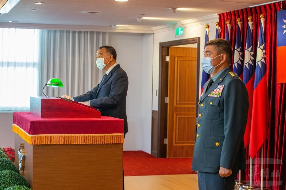 Taiwan's new chief of the general staff takes office - Focus Taiwan