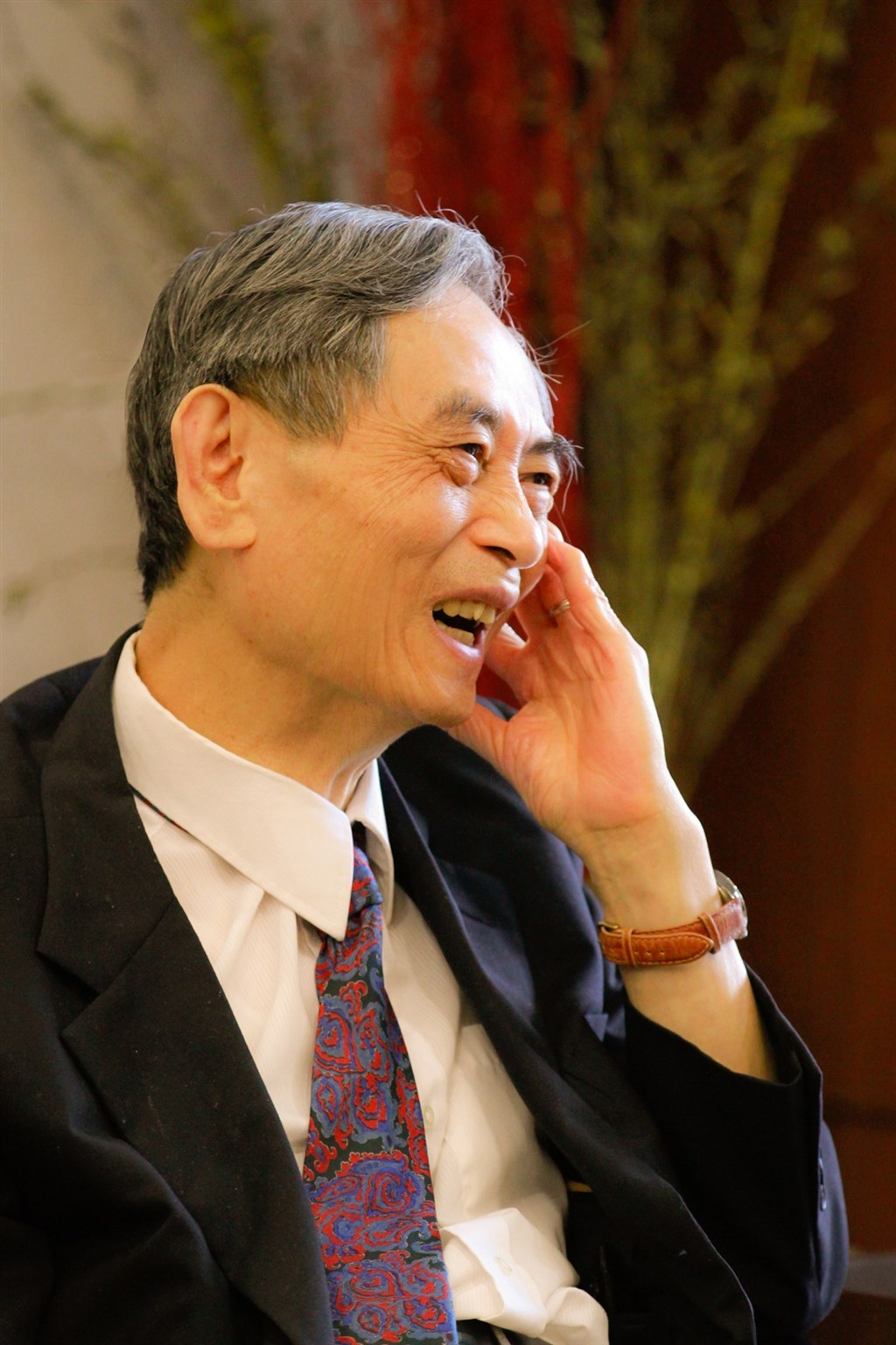 Academia Sinica academician Chen Sow-hsin. Photo from National Tsing Hua University