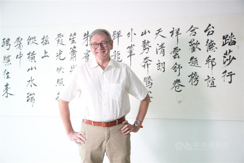 Thomas Prinz, director general of German Institute Taipei. CNA photo July 7, 2021