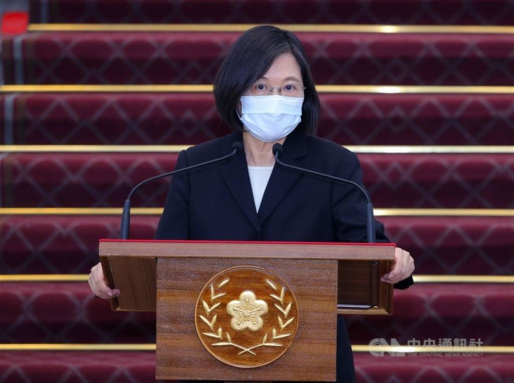 President Tsai Ing-wen. CNA file photo.