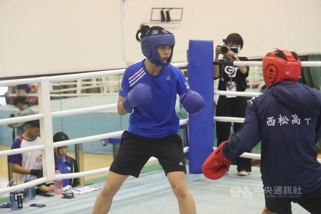 Boxer Wu Shih-yi. CNA file photo