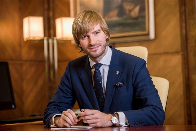 Czech Health Minister Adam Vojtěch. Image from mzcr.cz