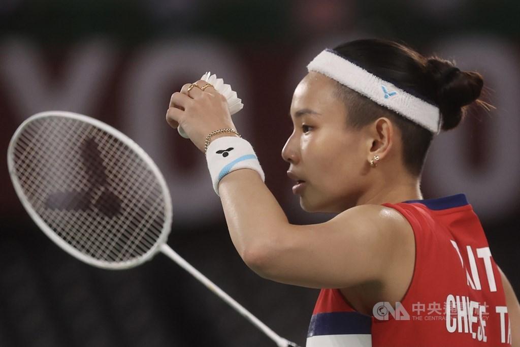 World No. 1 female badminton player Tai Tzu-ying. CNA photo July 28, 2021